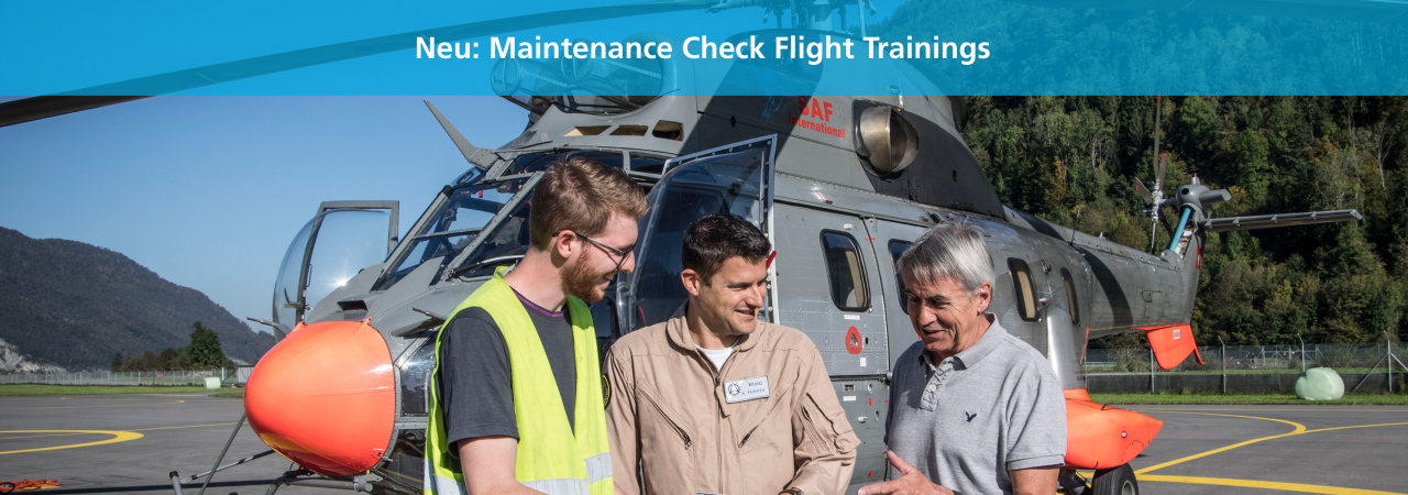 New Check Flight Trainings